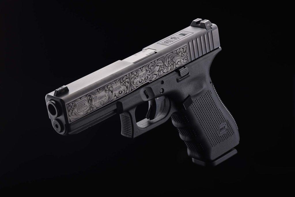 detenere un'arma: pistola Glock